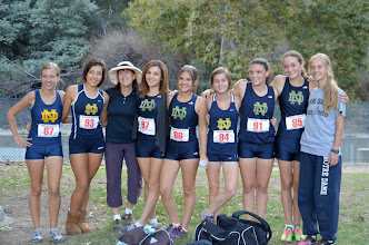 Photo: Notre Dame Girls JV Cross Country Team 2012
