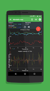 Physics Toolbox Sensor Suite: miniatura de captura de pantalla