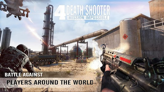 Death Shooter 4: Mission Impossible Mod Apk (Unlimited Money) 2