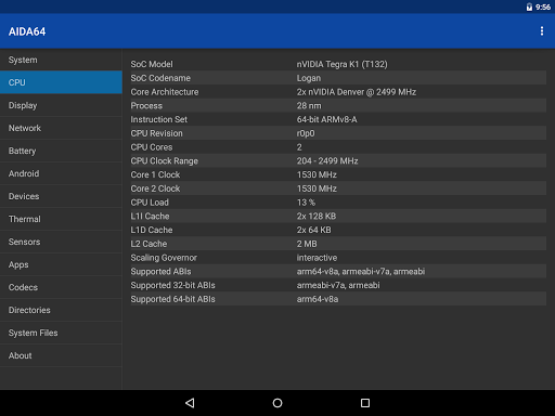 AIDA64 1.67 Apk for Android 10