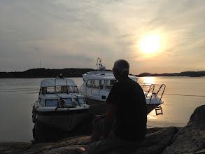 Photo: Auf Horsøy zusammen mit lieben Menschen