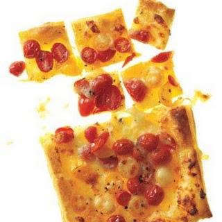 Flaky Tomato and Mozzarella Tart Recipe