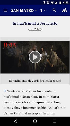 Huasteco San Luis Potosu00ed - Bible 6.1 screenshots 5