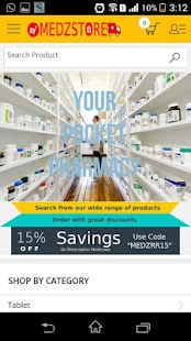 Medzstore - Your Pharmacy App- screenshot thumbnail