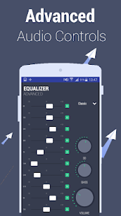 Equalizer – Advanced 10 band EQ with bass booster Screenshot