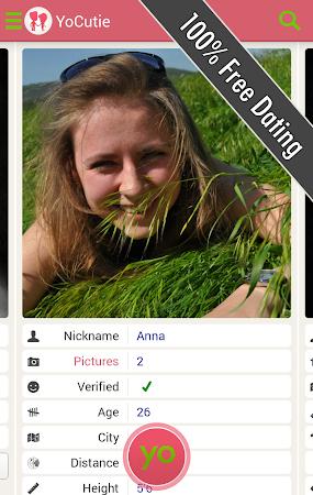 YoCutie ♥ 100% Free Dating App 1.131 screenshot 562421
