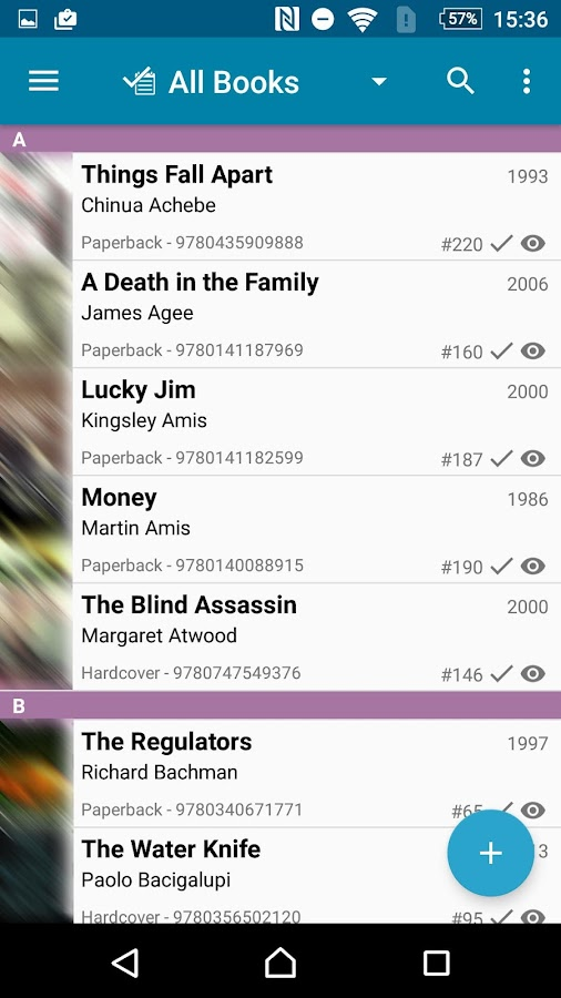 CLZ Books - Book Database- screenshot
