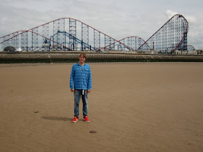 Photo: Blackpool Pleasure Beach
