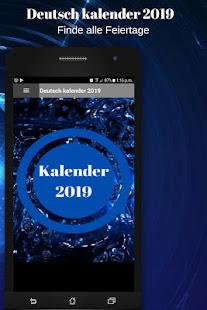 Deutsch kalender 2019 kostenlos mit ferien