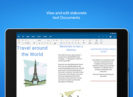 OfficeSuite - Office, PDF, Word, Excel, PowerPoint screenshot 9