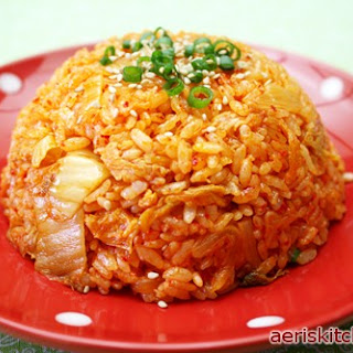 Kimchi Tuna Fried Rice