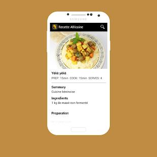 Recette Africaine التطبيقات على Google Play