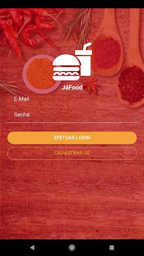 JáFood - Delivery de Comida screenshot 1