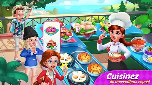 Télécharger Journal culinaire : Jeux de cuisine & restaurant  APK MOD (Astuce) screenshots 1