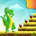 crocodile adventure runner icon