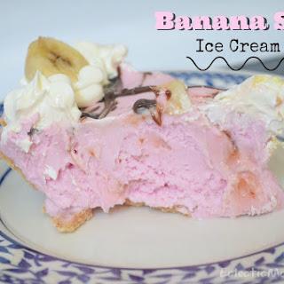 Banana Split Ice Cream Pie.