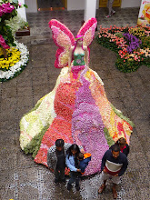 Photo: Queen of Ambato festival from above