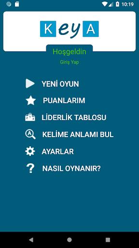 KeYa! Turkish word game 1.09 screenshots 1