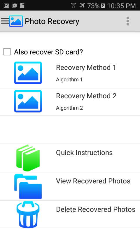 Photo Recovery- screenshot