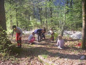 Photo: Die Kinder in Aktion