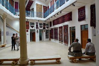 Photo: Men in Qelat Museum, Hawlêr 2014