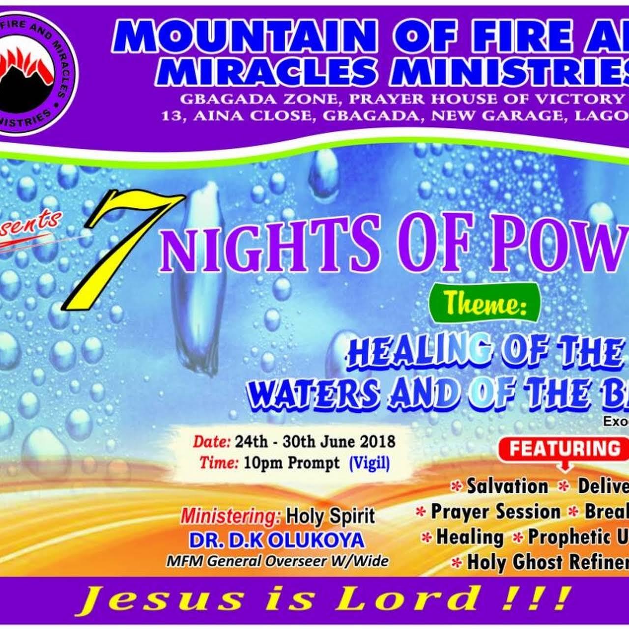 MFM Prayer House of Victory, New Garage - Gbagada, Lagos