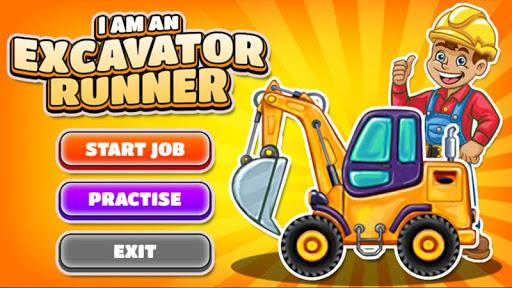 I am an Excavator Runner android2mod screenshots 9