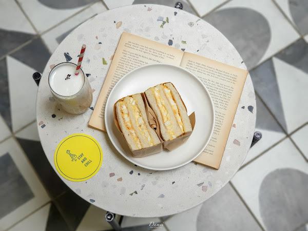 台北中正|GinGin Coffee Company-長頸鹿藏在咖啡館裡,平價咖啡館擄獲少女心