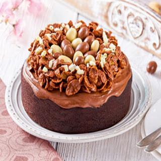 Chocolade Paastaart Met Vogelnestje