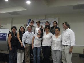 Photo: Integrantes de Secretaría Técnica de Fondo Común en el Cierre de su I Fase Hotel Barceló 24 febrero 2011