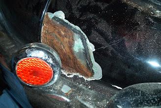 Photo: pod lakierem i szpachlą--gangrena
