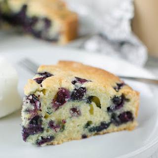 Blueberry Orange Coffee Cake Recipe