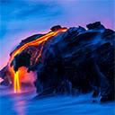 Volcano Wallpapers HD Theme