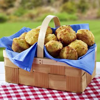 Mini Corn Muffins.