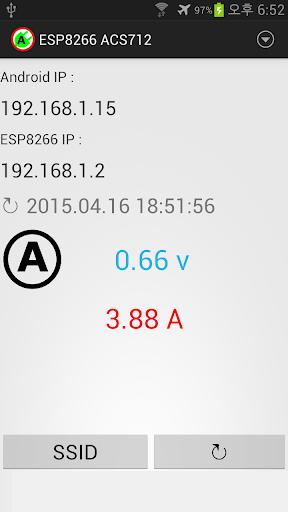 Esp8266 with ACS712