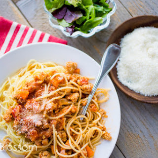 Ground Chicken Bolognese Sauce Recipes