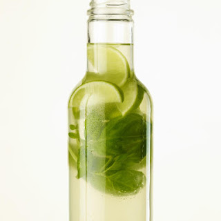 Lime, Basil and Ginger Water