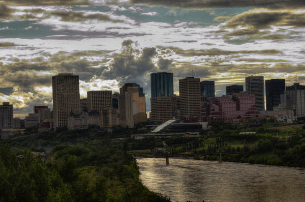 Photo: Edmonton Skyline