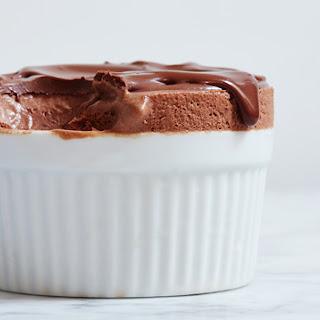 Frozen Chocolate Souffle.
