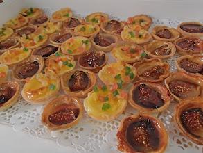 Photo: Tartelette flan , à la fleur d'oranger Tartelette à l'orange