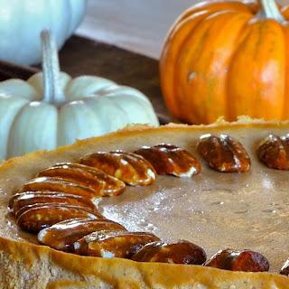 Lightened up Pumpkin Cheesecake w/Gingersnap Crust