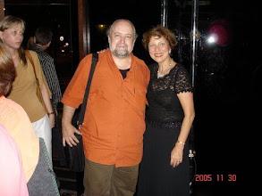 Photo: Harry Crowl com Helma Foram estreadas 3 obras desse compositor