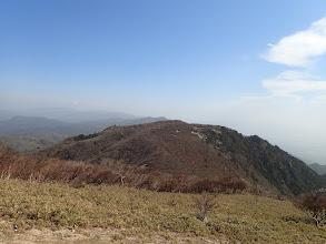 国見岳方面はチラホラと