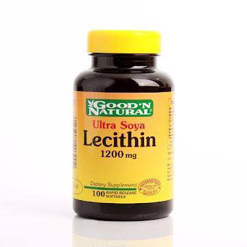 LECITHIN 1200MG ULTRA   SOYA GOOD´N NATURAL CÁPSULAS FRASCO X100CAP.
