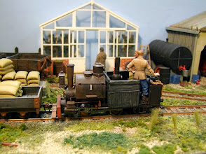 Photo: 020 This tiny 0-4-2ST Porter locomotive is one of the few steam engines that are to be found at Two Sisters Farm.