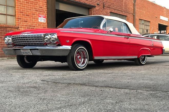 1962 Chevrolet Impala Convertible Hire California