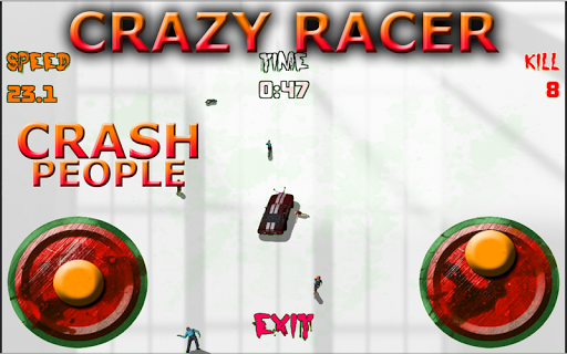 Crazy Racer Crush People