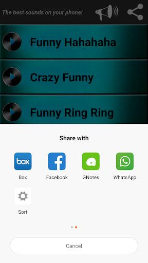 Funny Ringtones for whatsapp 5.0 screenshots 4