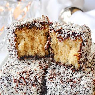 Chocolate Coconut Cake Squares a.K.a. Lamingtons! Recipe