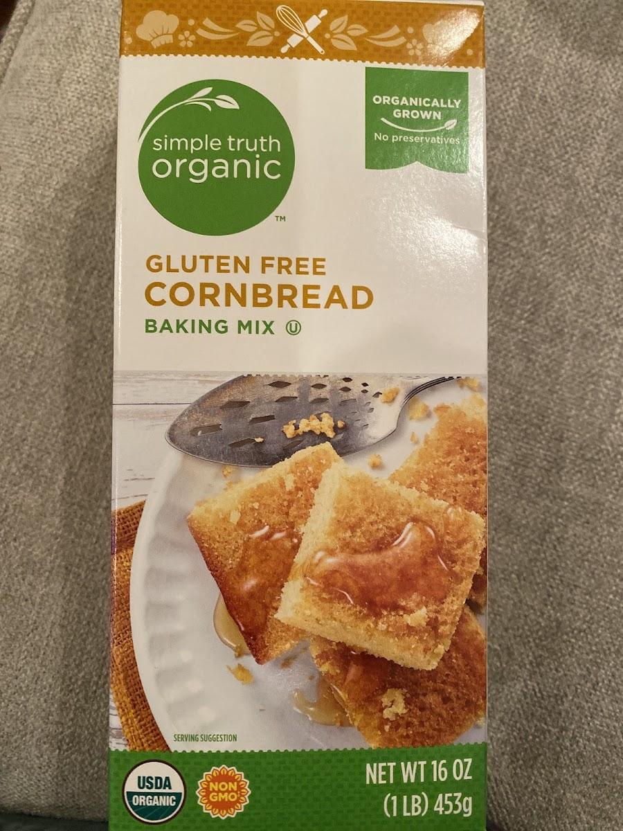 Gluten Free Cornbread Baking Mix